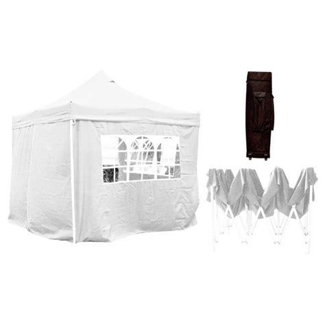 gazebo 3x3 pieghevole bianco gazebo pieghevole 3x3 impermeabilizzato bianco mondobrico