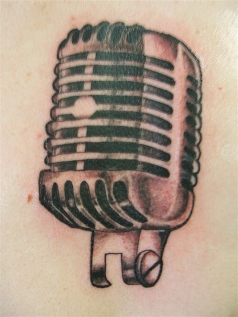 microphone tattoo tumblr microphone tattoo by thelittlered on deviantart