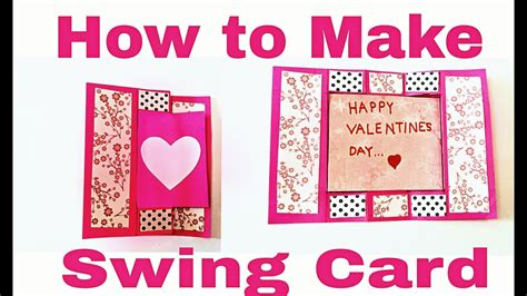 how to make day cards how to make swing card diy s day card