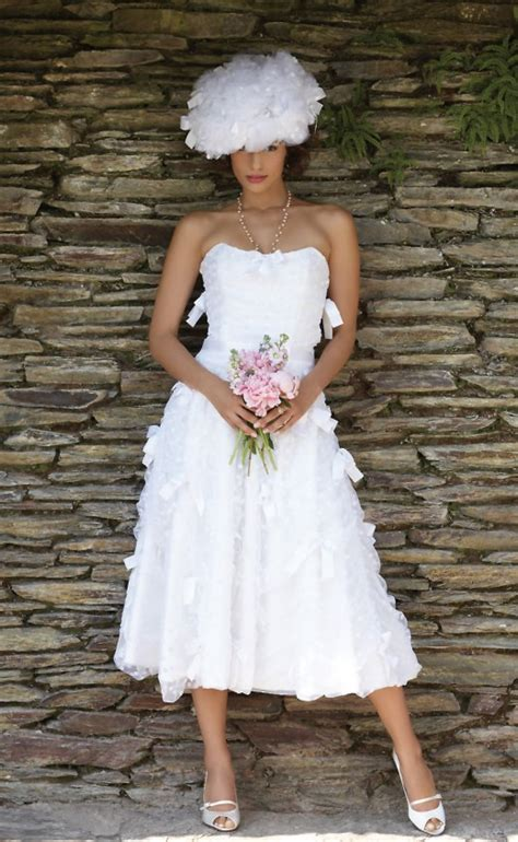 casual wedding dresses for older women