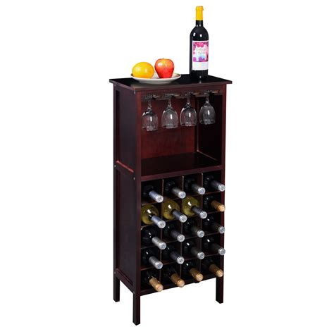 cabinet wine bottle and glass rack wine racks at home territory