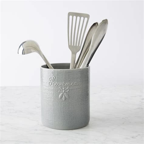 Utensil Holder porcelain utensil holder williams sonoma