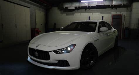 Maserati Engine Sound Maserati Ghibli S Engine Sound Vehicules Pour Gta V