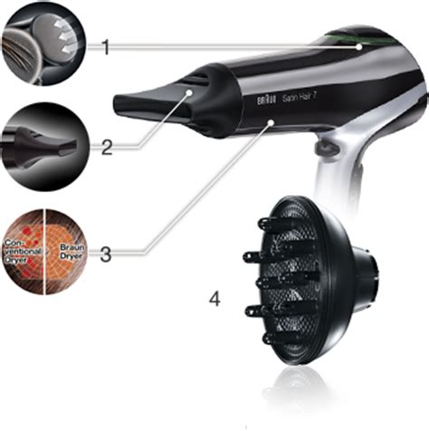 Braun Hair Dryer Price In Dubai braun satin hair 7 hd730 hair dryer with diffuser and