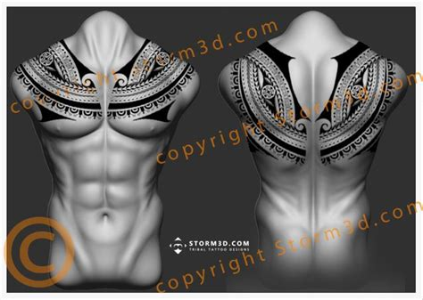 tribal collar tattoo best 25 polynesian tribal ideas on polynesian