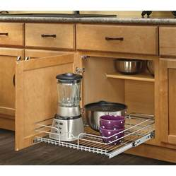 shop rev a shelf 20 5 in w x 7 in h metal 1 tier pull out