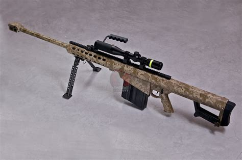 Airsoft Gun Sniper Barret M107 rwc x socom gear barrett m82a1 m107 ver 2 digital desert buy airsoft sniper rifles