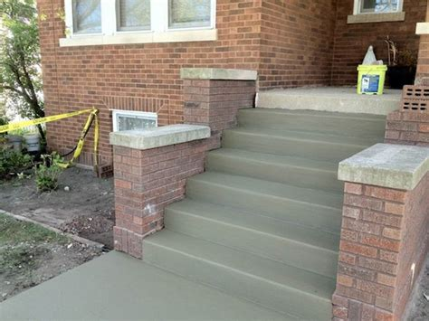 Rebuild Concrete Steps Leading To repair rebuild front steps porch berwyn elmwood river forest midland masonry