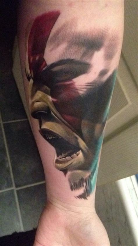 kratos tattoo 17 best god of war images on