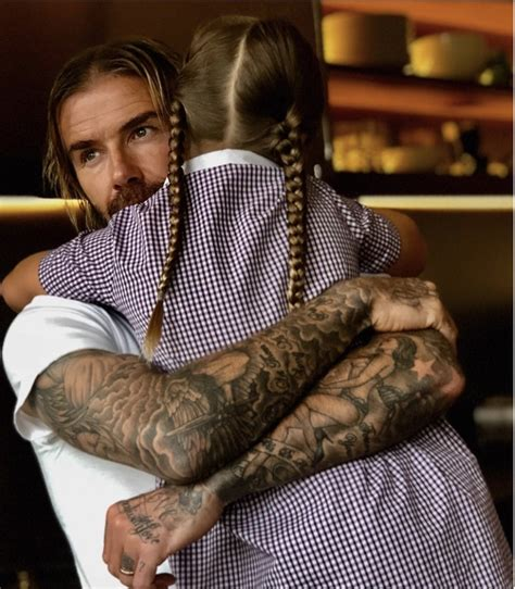 seven beckham tattoo reviews harper beckham quot i love my daddy quot celeb baby laundry