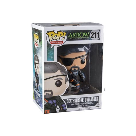 Funko Pop Deathstroke Dc deathstroke unmasked funko pop uit de tv serie arrow