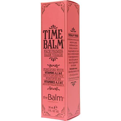 8 Promo Gratis Primer The Balm k 246 p timebalm 30ml the balm primer fraktfritt nordicfeel