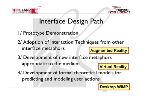 design guidelines user interface 2013 lecture 6 ar user interface design guidelines