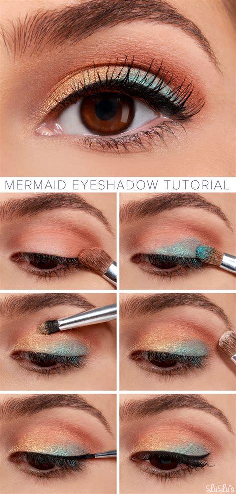 eyeliner tutorial blog lulus how to mermaid eyeshadow makeup tutorial lulus