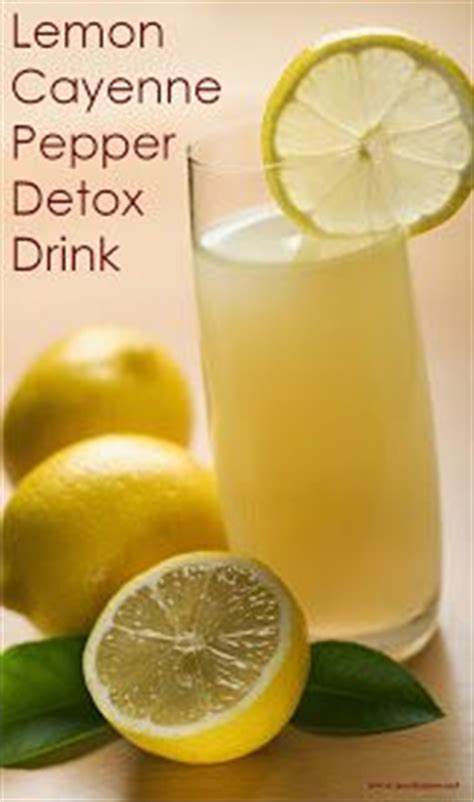 Lemon Honey Detox Drink by Lemon Cayenne Pepper Detox Drink Check More At Http