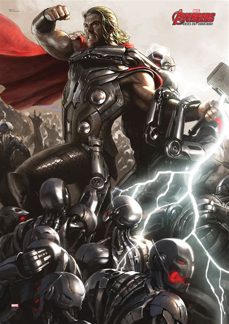 Avenger Age Of Ultron Ori Set 4 marvels age of ultron set of 4 mightyprint