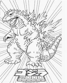 godzilla coloring pages free coloring pages of zilla