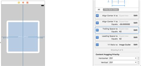 layout width xcode auto layout only returning single device width