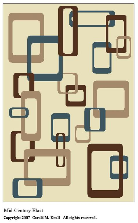Mid Century Geometric Patterns by 43 Best Images About Mid Century Modern Research Images On