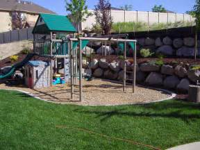 ideas for a playground in your garden home caprice