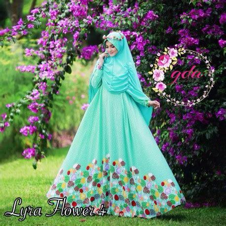 Setelan Naifa 18 By Baenetta lyra flower 4 d baju muslim gamis modern