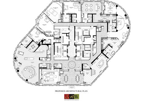 trump floor plan 89th tower chicago plans house notable