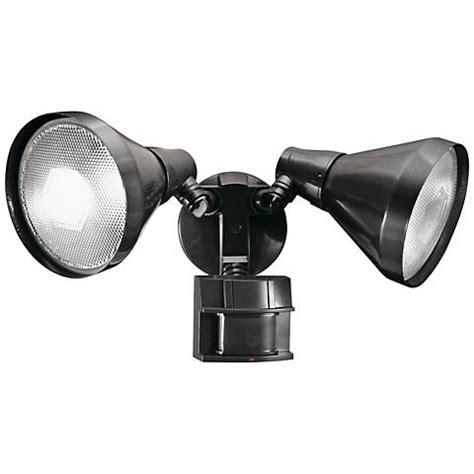 180 degree motion sensor light two light bronze 180 degree motion sensor security light