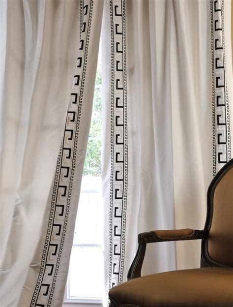 italian drapes discounted greco oyster italian embroidered cotton silk