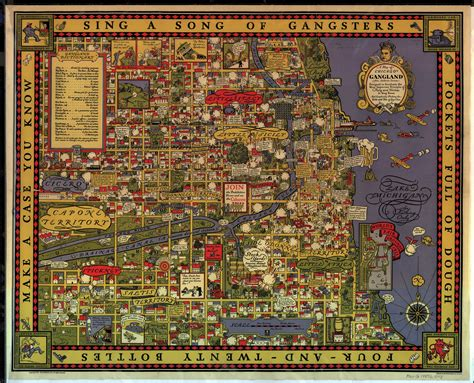 chicago map 1920 gangster chicago map 1931 map showing turf battles of the