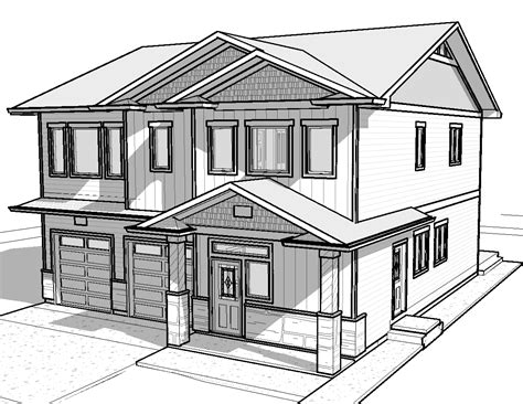 modern house drawing easy house drawings modern basic simple home plans