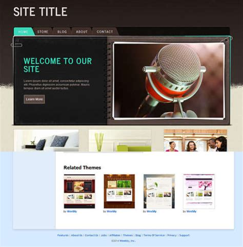23 Georgeous Free Weebly Themes Ginva Weebly Education Templates