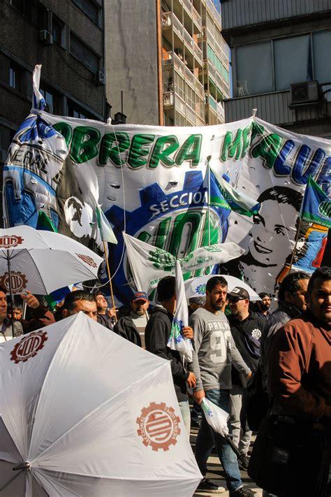paritarias union obrera metalurgica 2016 marcha por paritarias