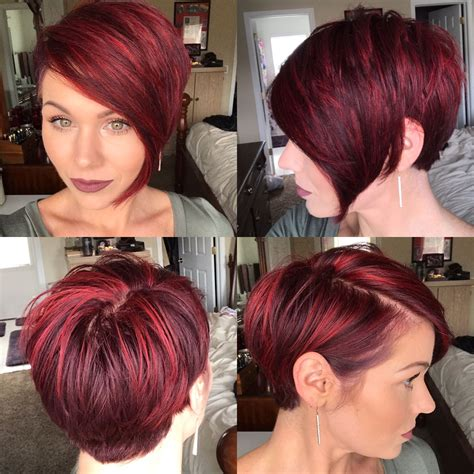 transition hair styles for growing out layers short 360 of pixie cut and also a good transition cut for when