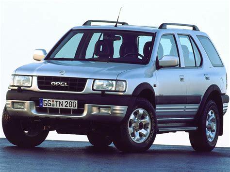 opel frontera 4x4 opel frontera b 3 2i v6 205 hp 4x4 automatic