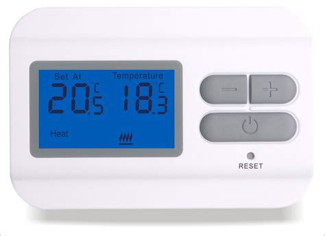 non programmable digital thermostat wired non programmable