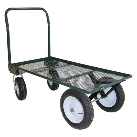 Garden Carts by Ez Haul 4 Wheel Garden Cart Farmtek