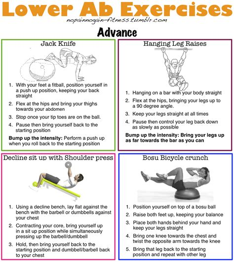beginners intermediate and advance lower ab