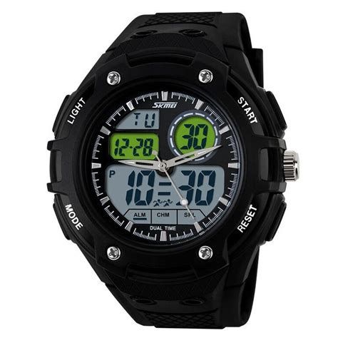 Skmei Original Casio Sport Led Water Resistant 50m Ad1065 skmei casio sport led water resistant 50m ad1018 black jakartanotebook