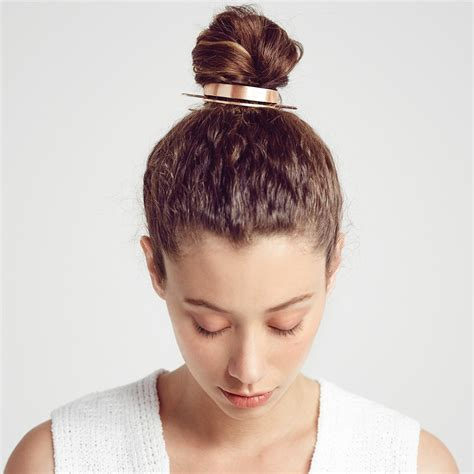 Hairstyle Accessories Bun by Stylenoted Trending Hair Accessories The Bun Cuff