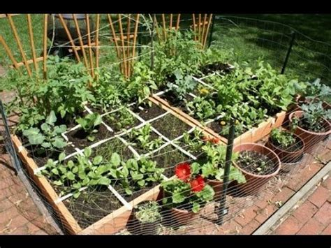 Home Vegetable Garden Ideas Types On A Budget Youtube Types Of Vegetable Gardening