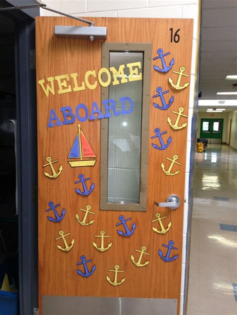 classroom door 239 best images about nautical theme classroom on