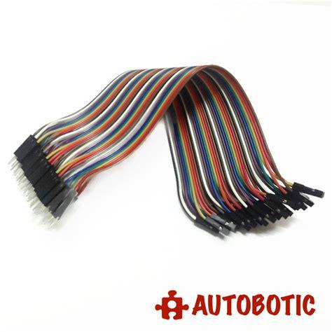 Produk Jumper Wires White Header 4 Pin to arduino breadboard dupont jumper wires 40p