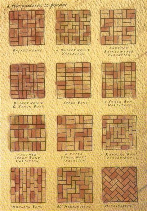 brick path patio designs brick patios pinterest