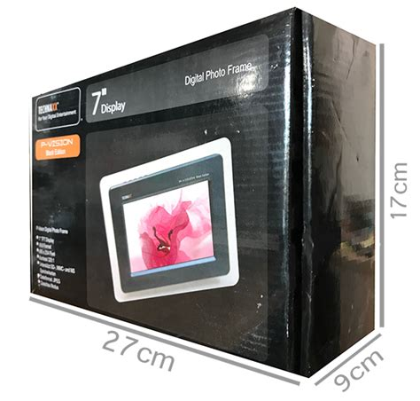 cornice elettronica cornice foto elettronica digitale memoria esterna sd 7