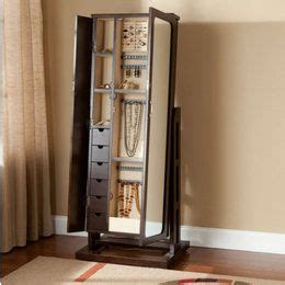 jewelry box mirrored armoire mirrored jewelry armoire free standing full length