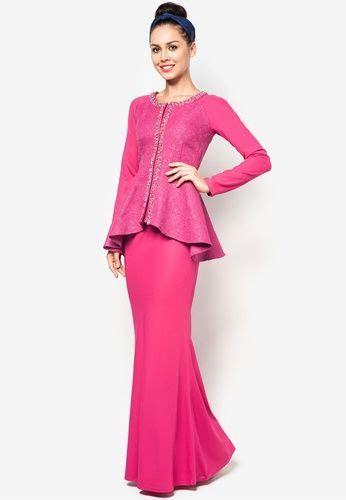 Zalora Baju Kurung Peplum jacquard motif peplum baju kurung zalora kebaya baju kurung baju kurung and