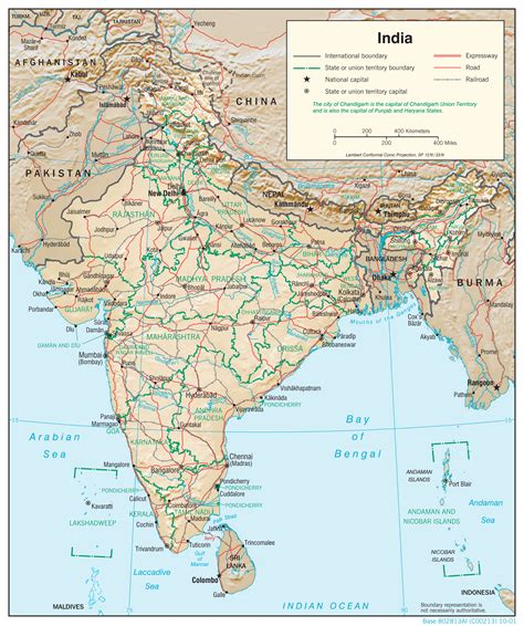 map india india maps perry casta 241 eda map collection ut library