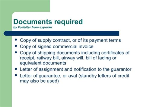 Payment Guarantee Standby Letter Of Credit Factoring Ppt