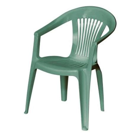Green Patio Chairs Us Leisure Low Back Green Patio Chair 141597 The Home Depot