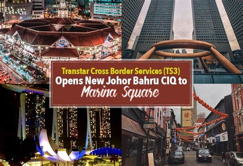 new year 2018 johor bahru transtar cross border services ts3 opens new johor bahru